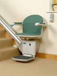 Commercial Stair Lifts for Straight Stairs