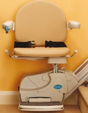 The Simplicity stairlift satisfies your straight stairlift needs.